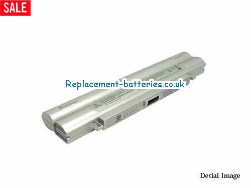 UK 4400mAh Long life laptop battery for Gateway Solo 200ARC Series,