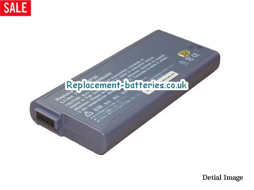 UK 4400mAh, 49Wh  Long life laptop battery for Fujitsu LifeBook S7020,