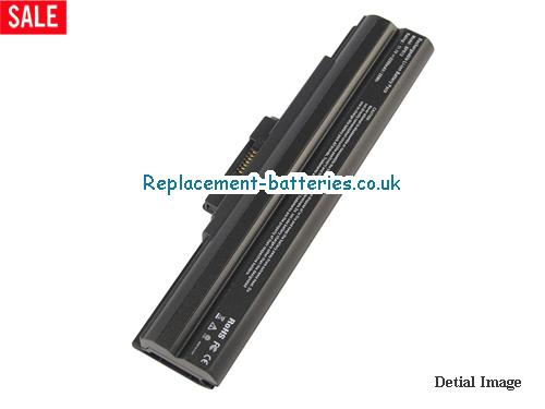 VAIO VGN-FW51JF/H Battery, 11.1V SONY VAIO VGN-FW51JF/H Battery 5200mAh