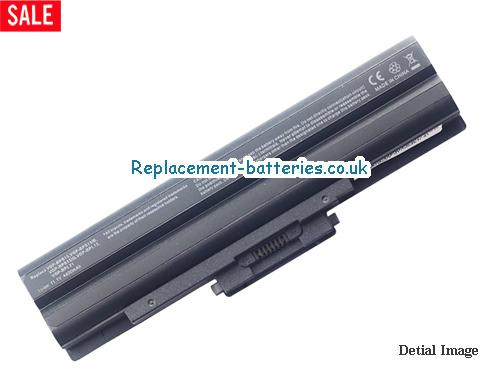 VAIO VGN-FW51JF/H Battery, 10.8V SONY VAIO VGN-FW51JF/H Battery 5200mAh