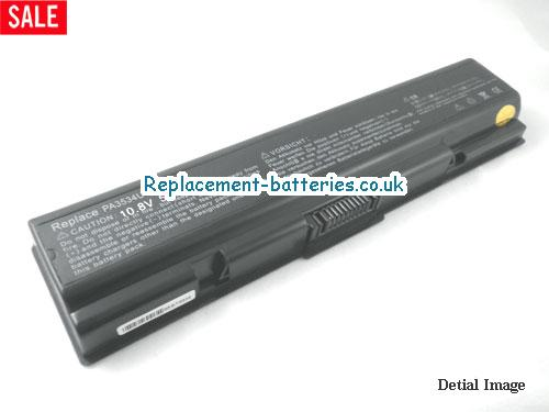 PA3727U-1BAS Battery, 10.8V TOSHIBA PA3727U-1BAS Battery 5200mAh
