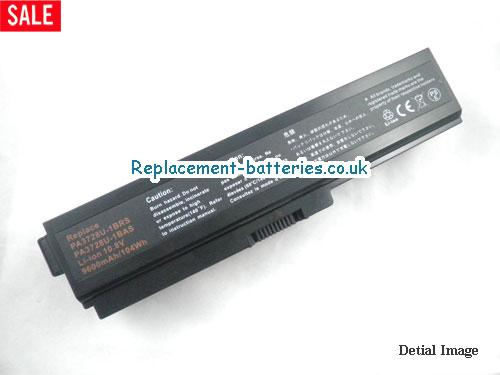 PA3817U-1BRS Battery, 10.8V TOSHIBA PA3817U-1BRS Battery 8800mAh