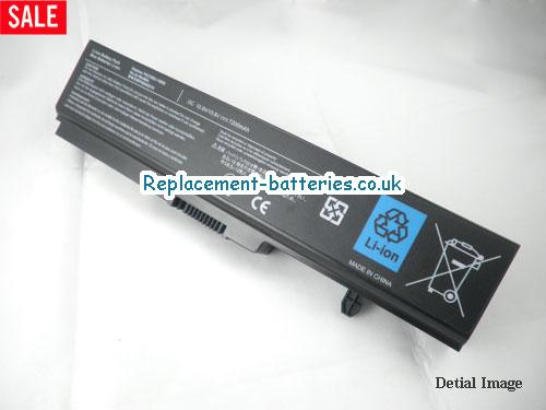 PA3780U-1BRS Battery, 10.8V TOSHIBA PA3780U-1BRS Battery 7200mAh