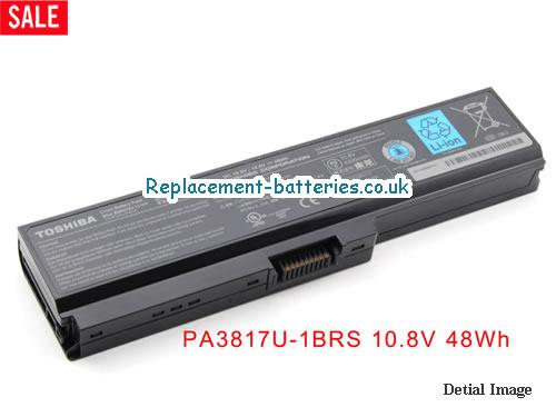Toshiba PA3817U-1BRS PABAS228 Satellite L600 L645 A660 L700 L745 L775 Series Battery in United Kingdom and Ireland