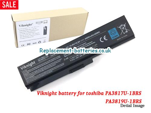 PA3817U-1BRS Battery, 10.8V TOSHIBA PA3817U-1BRS Battery 4400mAh