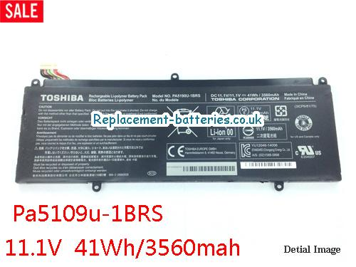 Toshiba PA5190U-1BRS Battery For Satellite Click 2 Pro Laptop in United Kingdom and Ireland