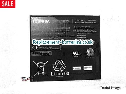 Genuine Toshiba PA5237U-1BRS Battery For DynaPad WT12PE Series 36Wh 3.8V in United Kingdom and Ireland