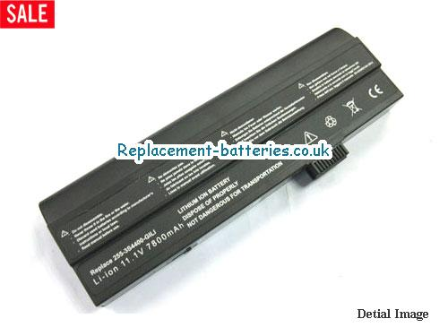 2553S4400G1L1 Battery, 11.1V UNIWILL 2553S4400G1L1 Battery 6600mAh