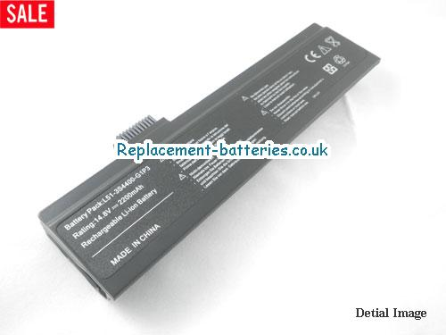 L51-4S2200-C1L3 Battery, 14.8V FUJITSU-SIEMENS L51-4S2200-C1L3 Battery 2200mAh