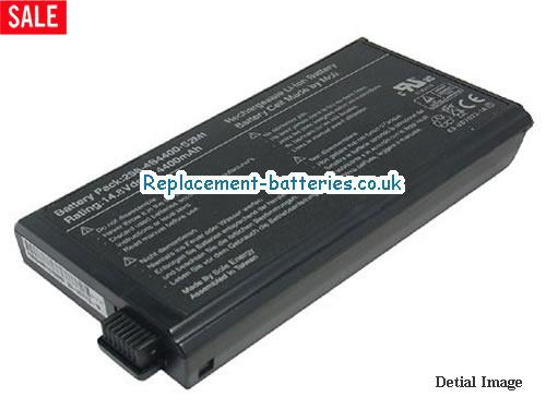 UK 4400mAh Long life laptop battery for Fujitsu X3100 series, X3000, Siemens Amilo D-1840, MPC Transport T3000,