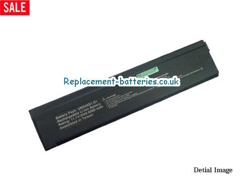 UK 6000mAh Long life laptop battery for Arm UN34ASi, UN34AS2-T, UN34AS1-T, UN34AS1-S1,
