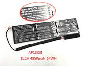 3ICP7/67/90 ACER 3ICP7/67/90 Laptop Battery Li-Polymer 11.1V, 4850mAh, 54Wh