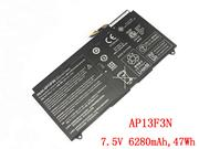 Genuine ACER 2ICP4/63/114-2 Battery Li-Polymer 7.5V 6280mAh, 47Wh