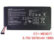 Genuine ASUS ASUS MEMO PAD 10 SMART ME301T TABLET Battery Li-Polymer 3.75V 5070mAh, 19Wh