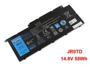 Genuine DELL JR9TD 14.8V 58W Laptop battery