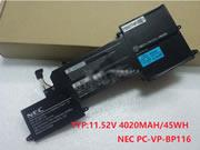 NEC PC-VP-BP116 Battery 11.4V 3960mah