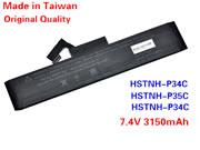 HP HSTNN-P34C,-P35C,-P36C 667842-001 Battery 3150mah
