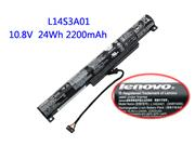 Lenovo L14S3A01 Battery For Ideapad 100-15IBY Series 24wh