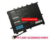 NEC PC-VP-BP119 Battery PCVPBP119 Li-Polymer 7.68v 6332mah