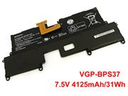 VGP-BPS37 Battery for Sony VAIO SVP11227SCB SVP11 SVP112A1CL SVP11214CXB Pro 11 7.5V 31Wh