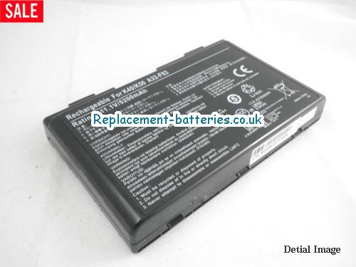 image 1 for  K40IL laptop battery