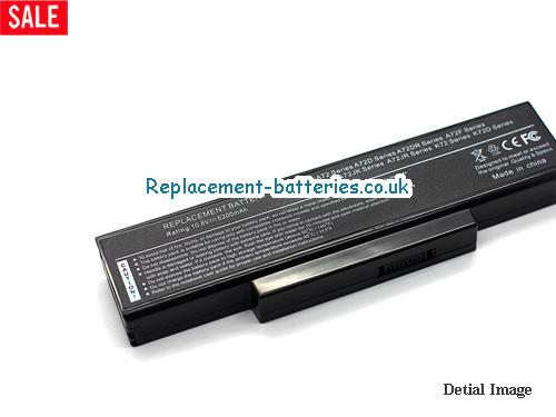 image 2 for  A73SM laptop battery