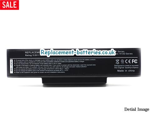 image 5 for  K73SV-TY032V laptop battery
