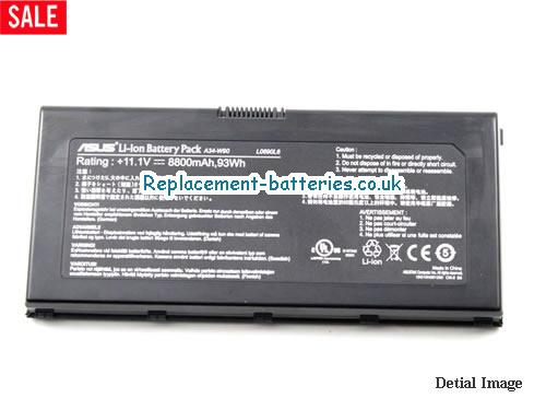 image 3 for  W90 laptop battery