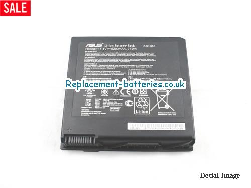 image 5 for  G55VW laptop battery