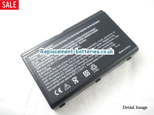 image 2 for  A55 laptop battery