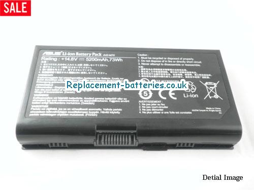 image 5 for  X72J laptop battery