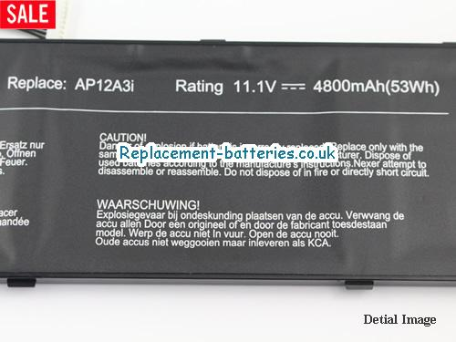 image 3 for  ASPIRE TIMELINE ULTRA M5 SERIES laptop battery