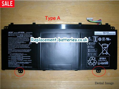 image 1 for  ACER CHROMEBOOK R13 SERIES laptop battery