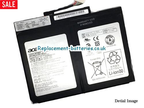 image 1 for  Genuine ACER AP16B4J Battery For Aspire Switch Alpha 12 SA5-271 Series In United Kingdom And Ireland laptop battery