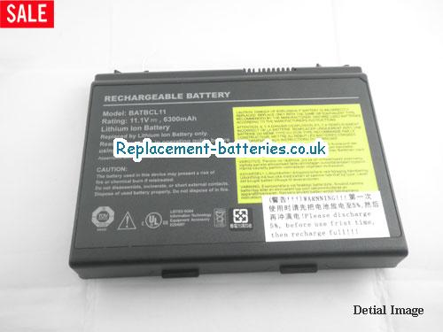 image 5 for  TRAVELMATE 430 laptop battery