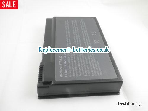 image 4 for  TRAVELMATE 2412NLM laptop battery