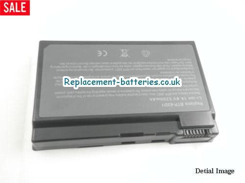 image 5 for  TRAVELMATE 2414WLM laptop battery