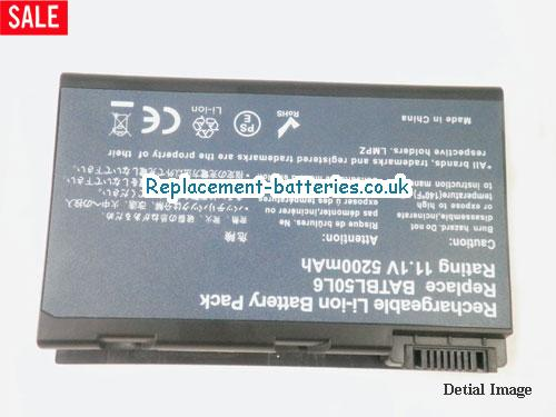 image 5 for  ASPIRE 3690 SERIES laptop battery