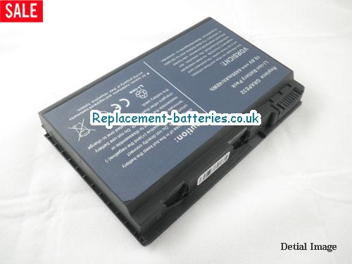 image 2 for  TRAVELMATE 7520G-502G25 laptop battery