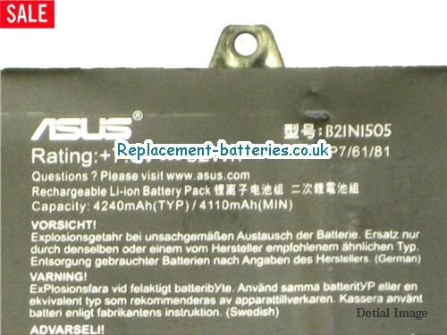 image 2 for  Genuine B21N1505 Battery For Asus EeeBook E402MA E402NA Series In United Kingdom And Ireland laptop battery