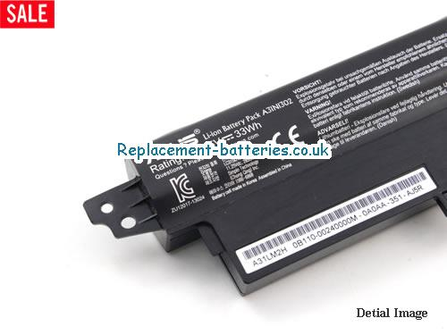 image 3 for  R202CA laptop battery