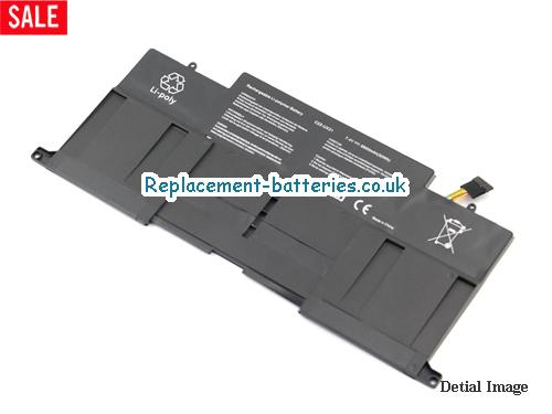 image 1 for  New C23-UX31 C22-UX31 Replacement Battery For Asus ZENBOOK UX31 UX31E UX31E-DH72 Laptop In United Kingdom And Ireland laptop battery
