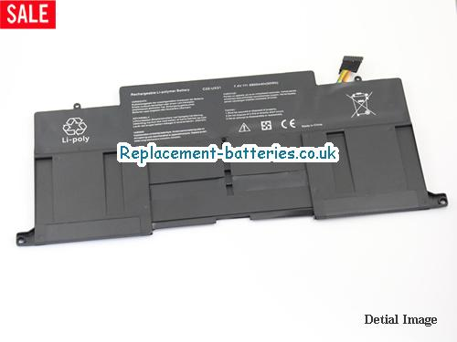 image 5 for  New C23-UX31 C22-UX31 Replacement Battery For Asus ZENBOOK UX31 UX31E UX31E-DH72 Laptop In United Kingdom And Ireland laptop battery