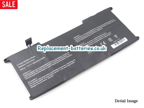 image 1 for  Replacement C23-UX21 Battery For ASUS Zenbook UX21 UX21E Series 35Wh In United Kingdom And Ireland laptop battery