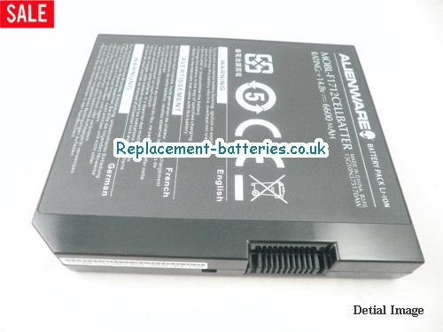 image 5 for  Genuine Alienware MOBL-F1712CELLBATTER Battery 6600mah 12cells In United Kingdom And Ireland laptop battery