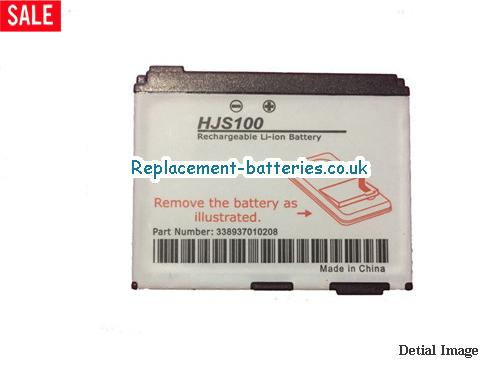 image 2 for  1000mah HJS100 Battery For Becker MAP Pilot GPS System In United Kingdom And Ireland laptop battery