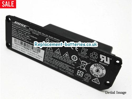 image 5 for  BOSE 063404 Battery For Mini Bluetooth Speaker In United Kingdom And Ireland laptop battery