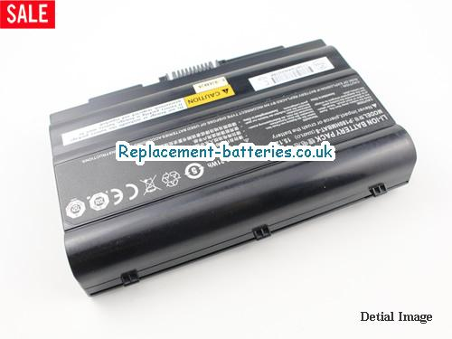 image 4 for  6-87-P180S-427 laptop battery