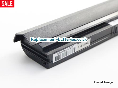 image 2 for  W950BAT-4 laptop battery