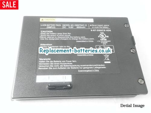 image 4 for  PORTANOTE D9C laptop battery